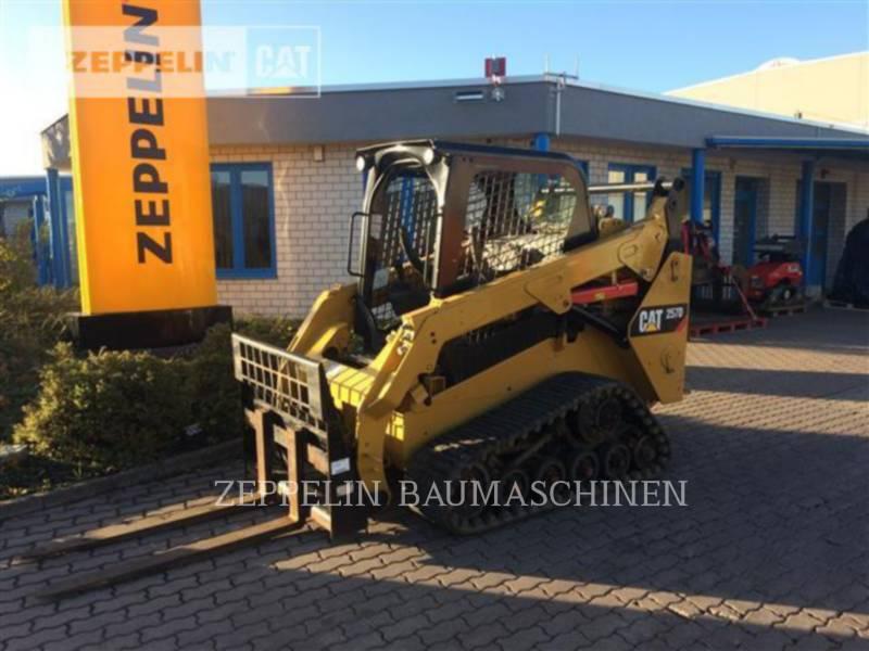 CATERPILLAR DELTALADER 257D equipment  photo 1