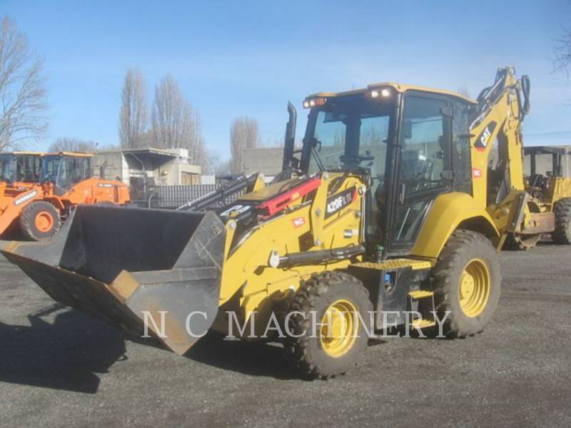 CATERPILLAR BAGGERLADER 420F24ETCB equipment  photo 1