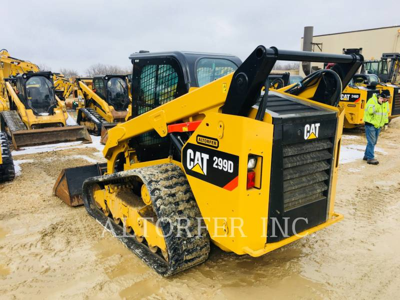 CATERPILLAR SKID STEER LOADERS 299D equipment  photo 4