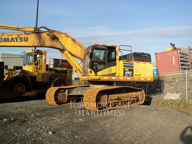 KOMATSU TRACK EXCAVATORS PC490LC-10 equipment  photo 1