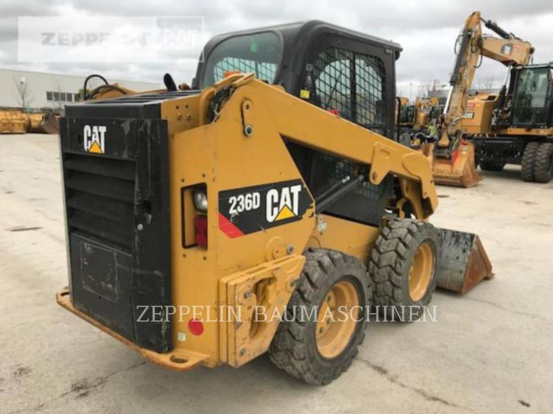 CATERPILLAR スキッド・ステア・ローダ 236D equipment  photo 4