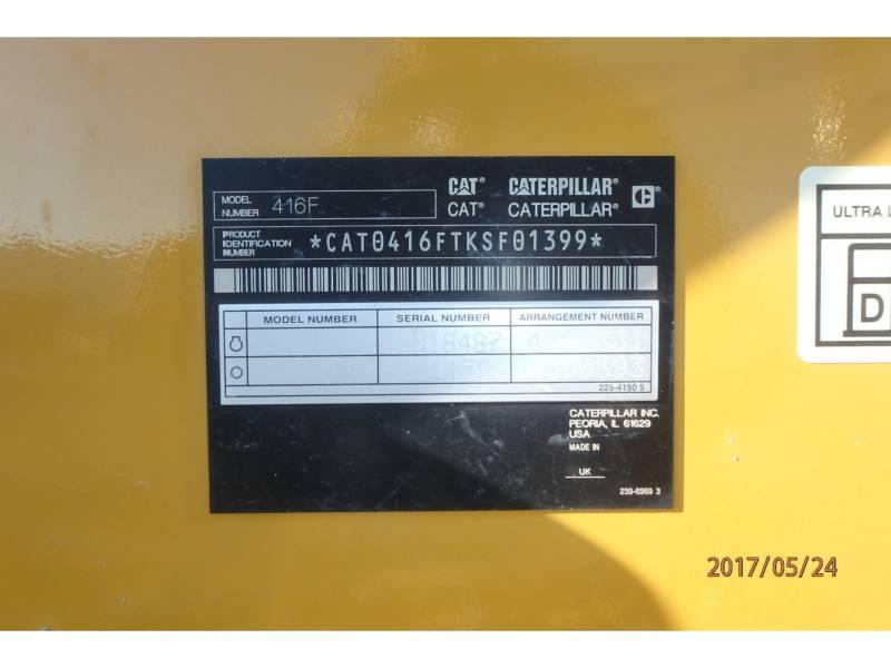 CATERPILLAR BACKHOE LOADERS 416FST equipment  photo 15