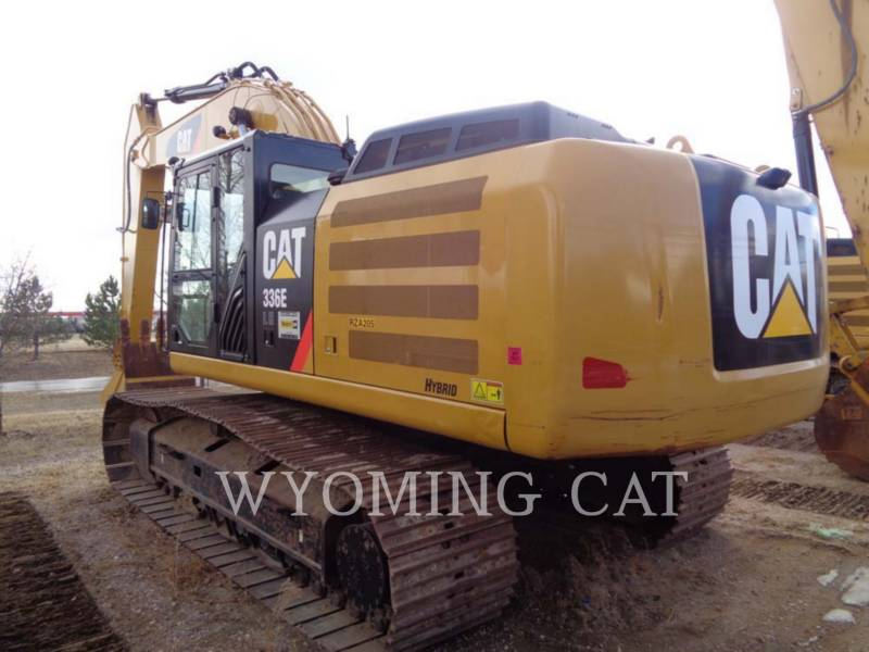 CATERPILLAR PELLES SUR CHAINES 336EL HYB equipment  photo 2