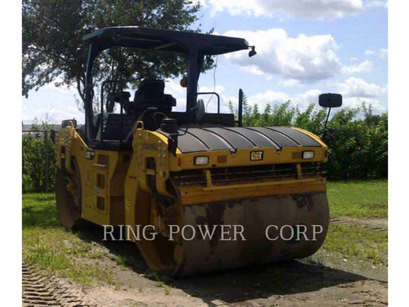 CATERPILLAR TANDEMVIBRATIONSWALZE, ASPHALT CB64B equipment  photo 2