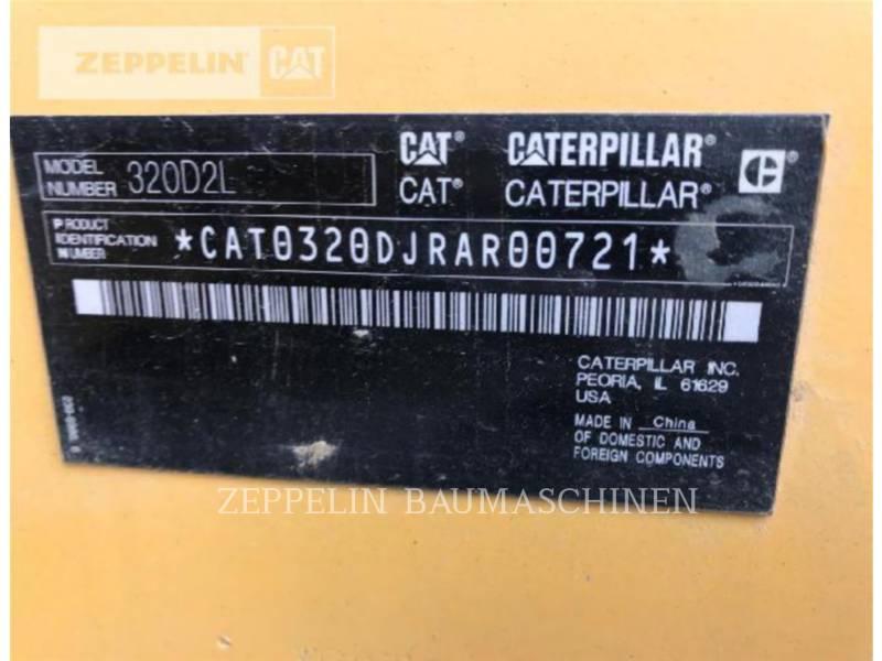 CATERPILLAR KETTEN-HYDRAULIKBAGGER 320D2L equipment  photo 5