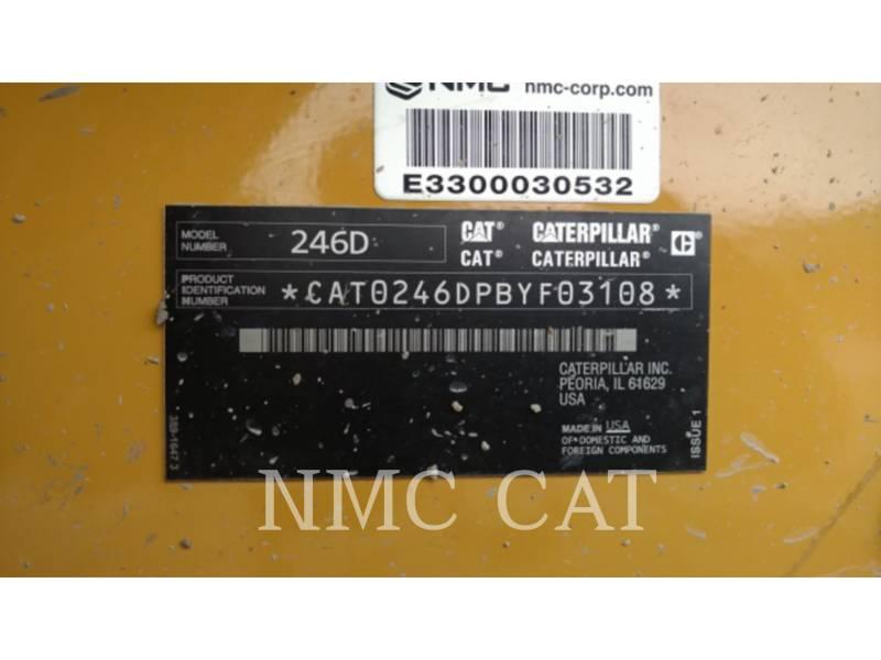 CATERPILLAR MINICARREGADEIRAS 246D equipment  photo 1