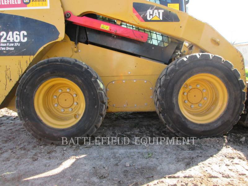 CATERPILLAR SKID STEER LOADERS 246C equipment  photo 10