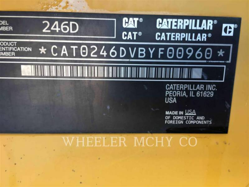 CATERPILLAR SKID STEER LOADERS 246D C3-H4 equipment  photo 6