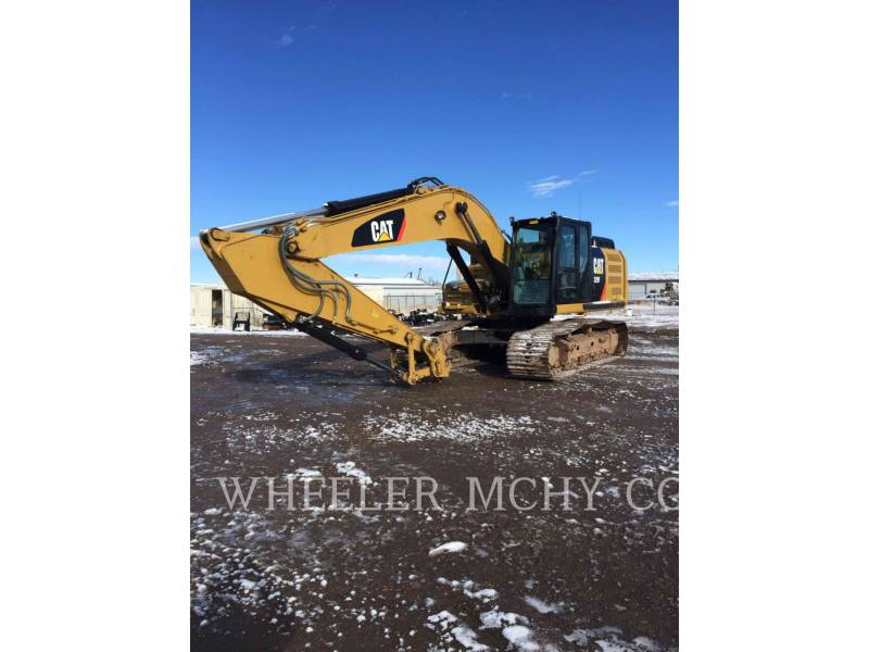 CATERPILLAR KETTEN-HYDRAULIKBAGGER 329F L CF equipment  photo 1