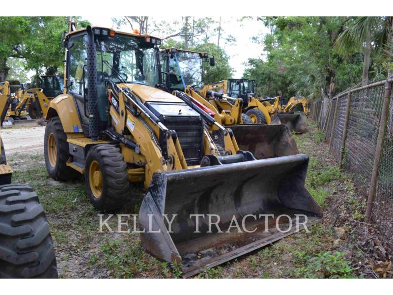CATERPILLAR CHARGEUSES-PELLETEUSES 420 F 2 IT equipment  photo 1