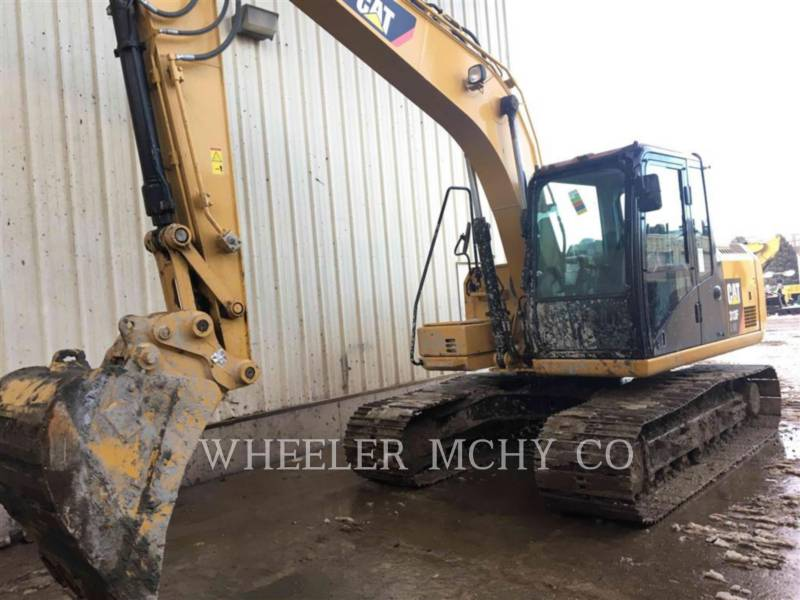 CATERPILLAR TRACK EXCAVATORS 313F GC CF equipment  photo 6