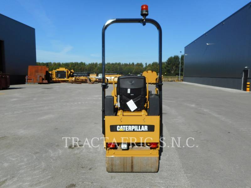 CATERPILLAR TAMBOR DOBLE VIBRATORIO ASFALTO CB14 equipment  photo 5