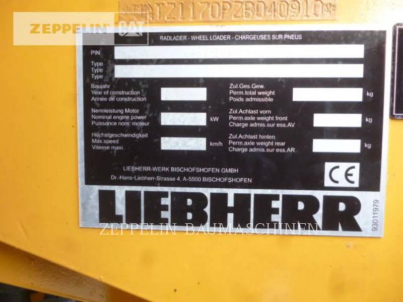 LIEBHERR RADLADER/INDUSTRIE-RADLADER L580 equipment  photo 2