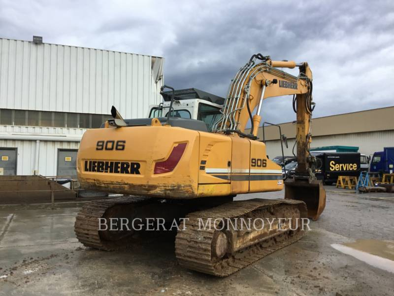 LIEBHERR KETTEN-HYDRAULIKBAGGER R906 equipment  photo 6