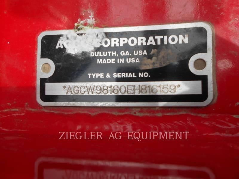 AGCO-WHITE PLANTING EQUIPMENT 9816 equipment  photo 5