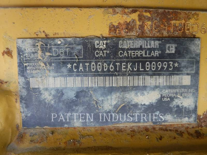CATERPILLAR TRACTORES DE CADENAS D6T LGPARO equipment  photo 9