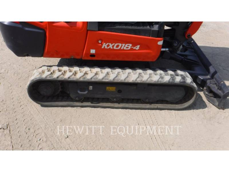 KUBOTA CANADA LTD. TRACK EXCAVATORS KX018-4 equipment  photo 13