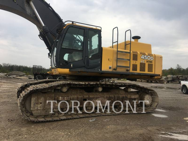 DEERE & CO. TRACK EXCAVATORS 450DL equipment  photo 3