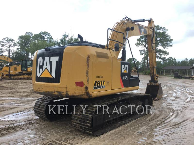 CATERPILLAR EXCAVADORAS DE CADENAS 316EL equipment  photo 7