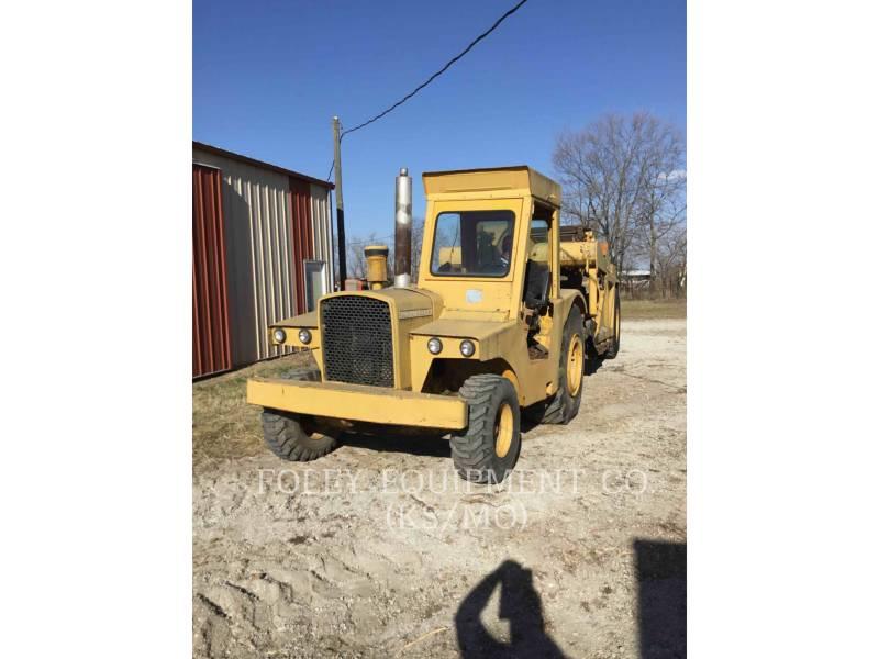 JOHN DEERE WHEEL TRACTOR SCRAPERS 760A equipment  photo 4