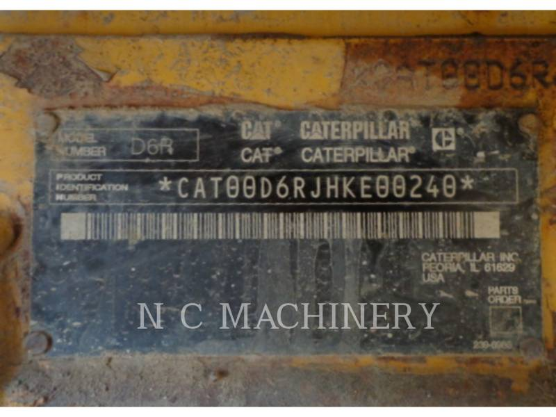 CATERPILLAR TRACTORES DE CADENAS D6R XLVPAT equipment  photo 5