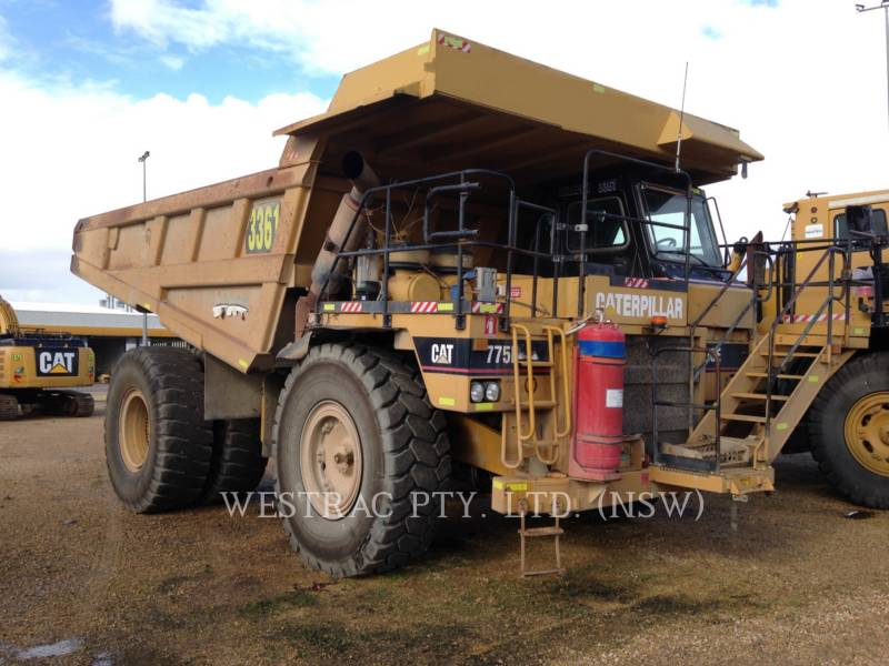 CATERPILLAR STARRE DUMPTRUCKS 775E equipment  photo 4