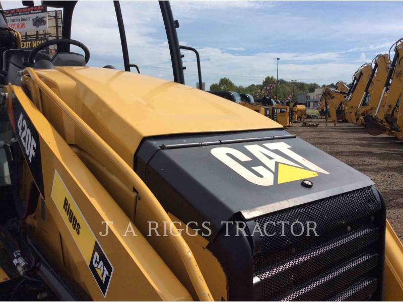 CATERPILLAR バックホーローダ 420F 4E equipment  photo 22