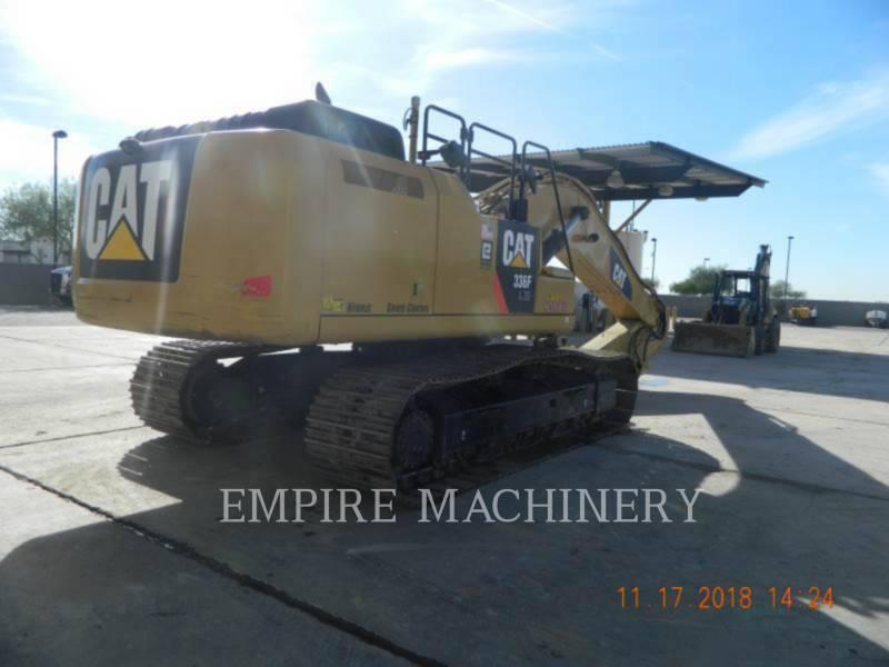 CATERPILLAR TRACK EXCAVATORS 336FLXE equipment  photo 1