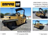 CATERPILLAR PNEUMATIC TIRED COMPACTORS PS360C equipment  photo 2