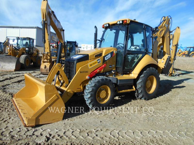 CATERPILLAR バックホーローダ 420F 4WD equipment  photo 1