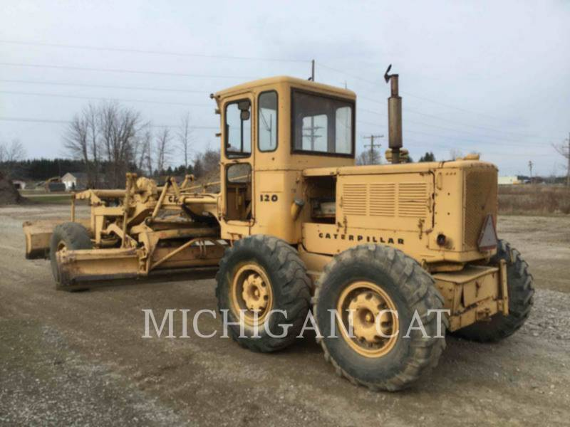CATERPILLAR NIVELEUSES 120 equipment  photo 4