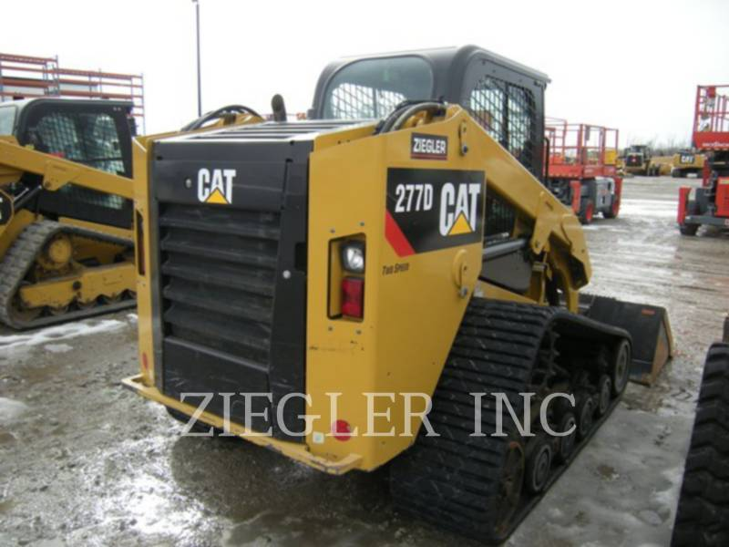 CATERPILLAR MULTI TERRAIN LOADERS 277DS equipment  photo 2