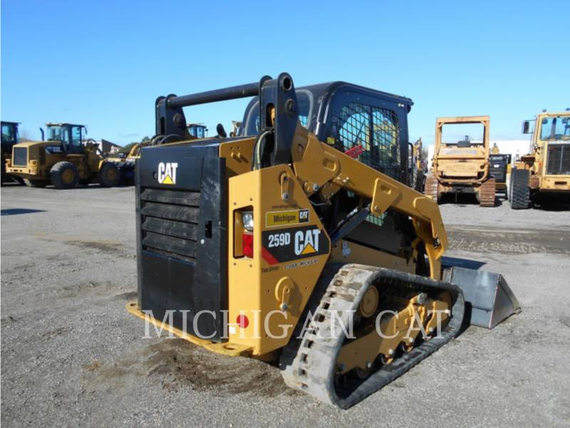 CATERPILLAR MULTI TERRAIN LOADERS 259D AQ equipment  photo 4