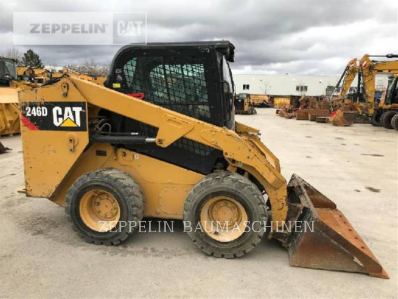 CATERPILLAR SKID STEER LOADERS 246 equipment  photo 4