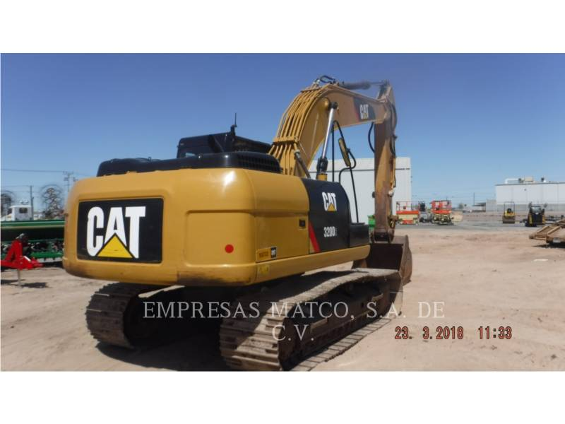 CATERPILLAR KETTEN-HYDRAULIKBAGGER 320D2 equipment  photo 2