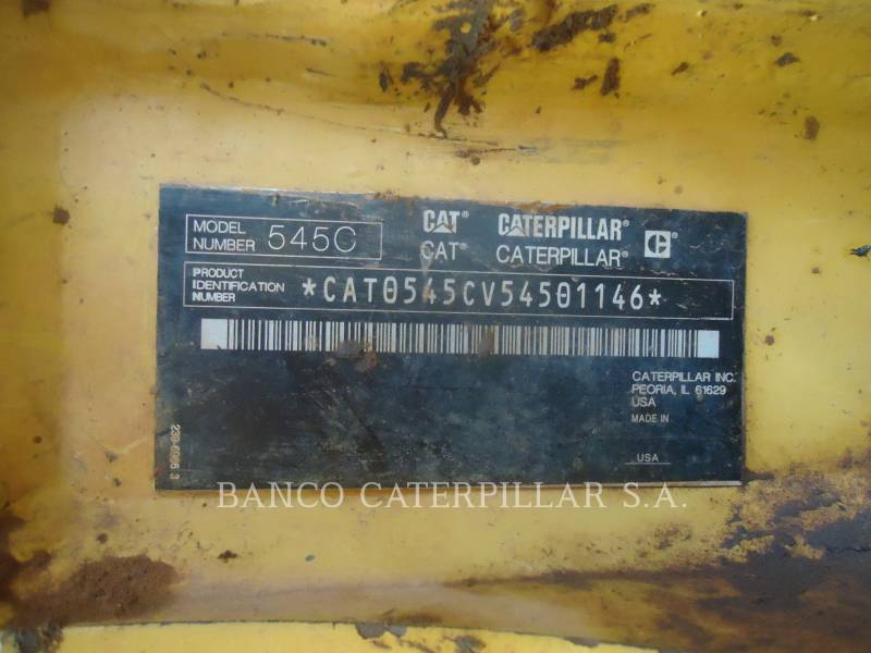 CATERPILLAR SILVICULTURA - TRATOR FLORESTAL 545C equipment  photo 5