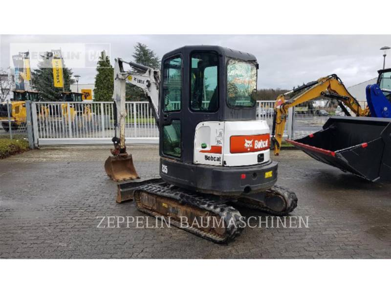 BOBCAT KOPARKI GĄSIENICOWE E35 equipment  photo 4