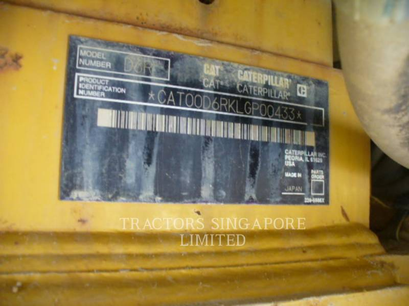 CATERPILLAR TRATTORI CINGOLATI D6RIIILGP equipment  photo 22