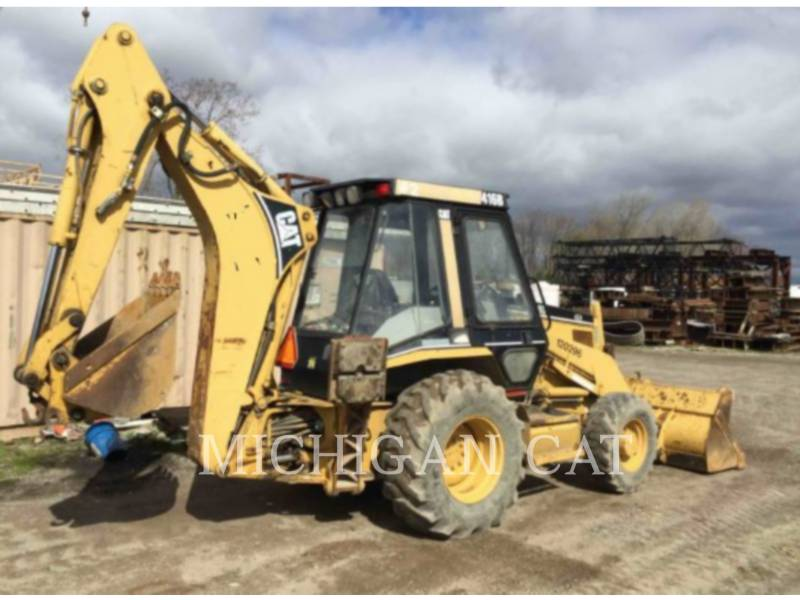 CATERPILLAR RETROEXCAVADORAS CARGADORAS 416B C equipment  photo 4