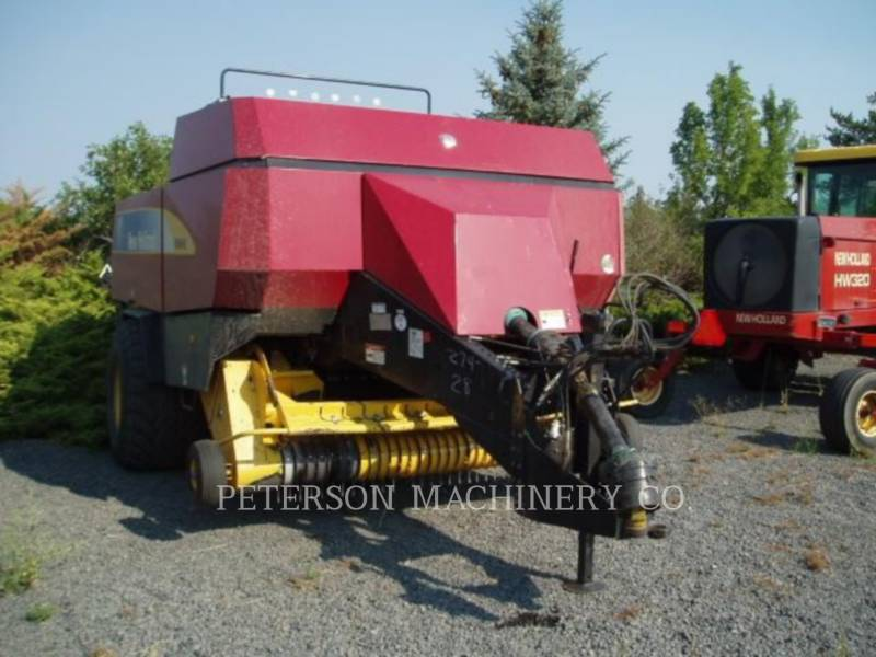 NEW HOLLAND LTD. MATERIELS AGRICOLES POUR LE FOIN BB960A equipment  photo 2