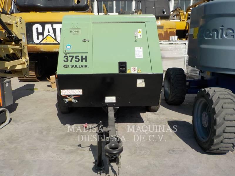 SULLAIR AIR COMPRESSOR (OBS) 375HDPQ-CA equipment  photo 8