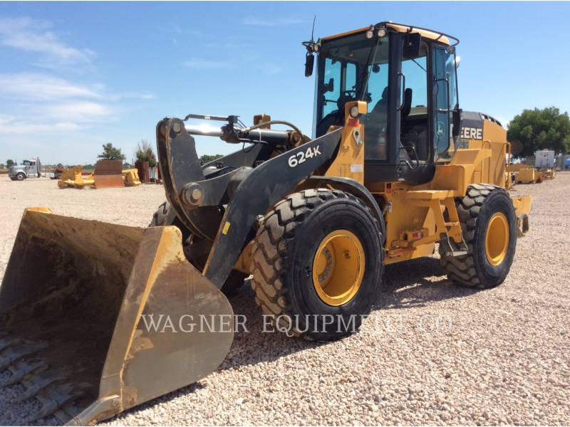 DEERE & CO. TRACK TYPE TRACTORS 624K equipment  photo 1