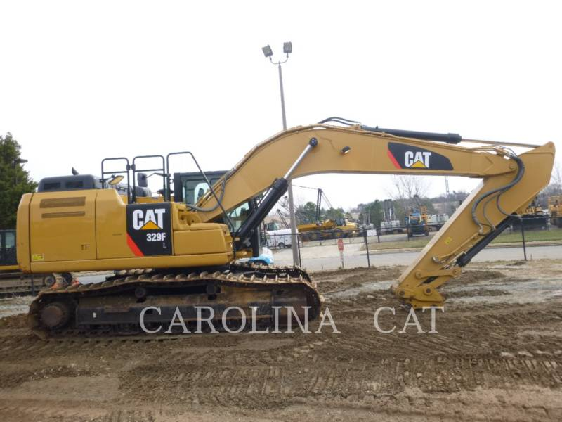 CATERPILLAR EXCAVADORAS DE CADENAS 329FL QC equipment  photo 5