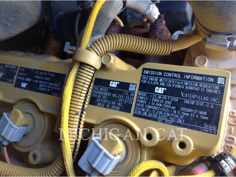CATERPILLAR MINICARGADORAS 246D C2Q equipment  photo 12