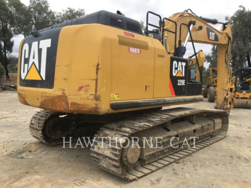 CATERPILLAR TRACK EXCAVATORS 329E equipment  photo 4