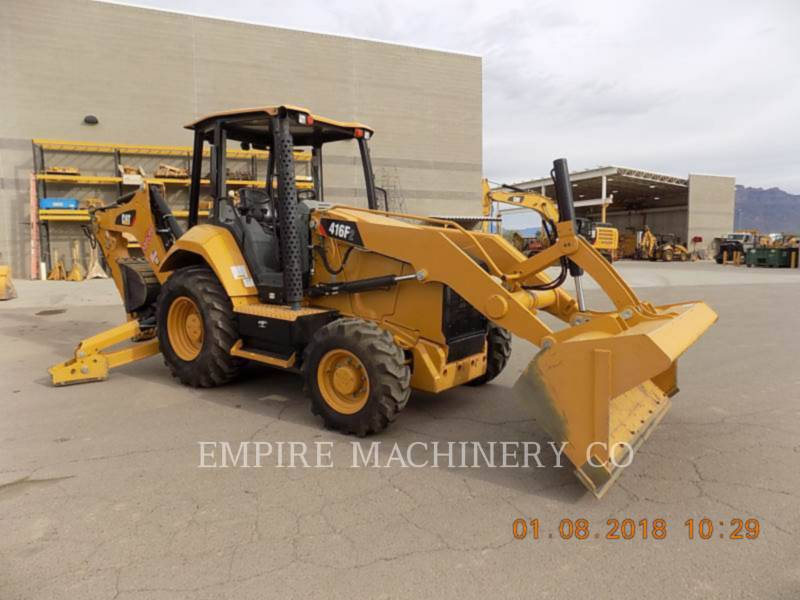 CATERPILLAR KOPARKO-ŁADOWARKI 416F2 4EO equipment  photo 1