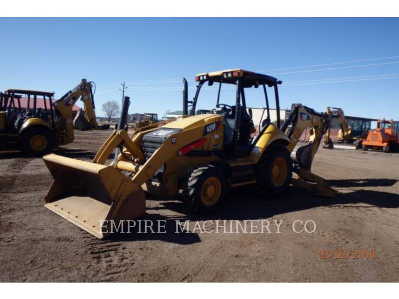 CATERPILLAR BAGGERLADER 420F 4EO P equipment  photo 4
