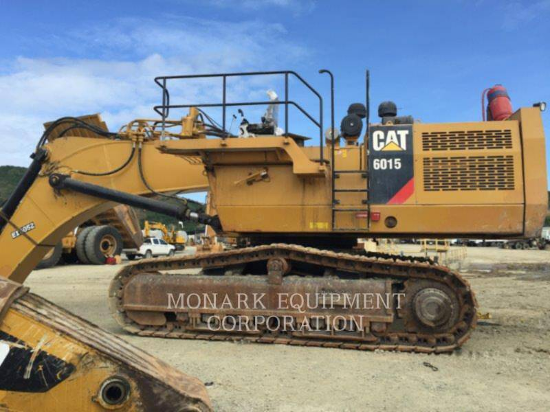 CATERPILLAR KETTEN-HYDRAULIKBAGGER 6015 equipment  photo 7