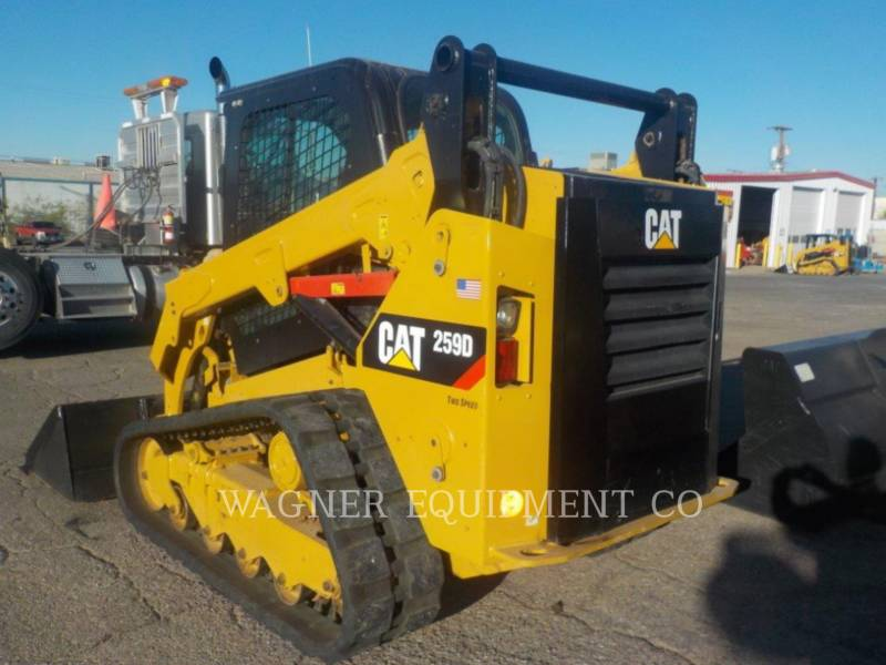 CATERPILLAR UNIWERSALNE ŁADOWARKI 259D equipment  photo 2