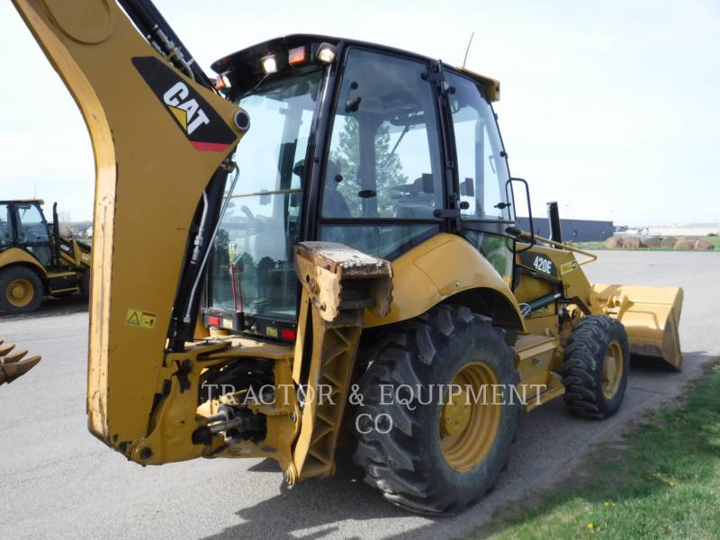 CATERPILLAR CHARGEUSES-PELLETEUSES 420E 4ECB equipment  photo 6